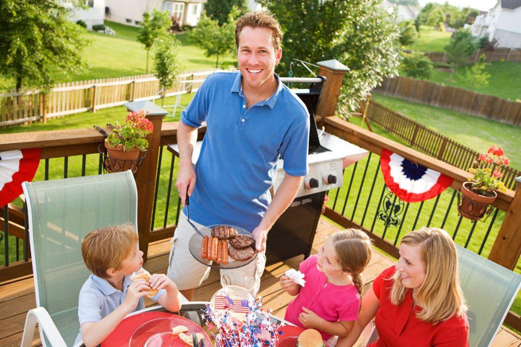 Mainline PA Memorial Day Green Backyard!