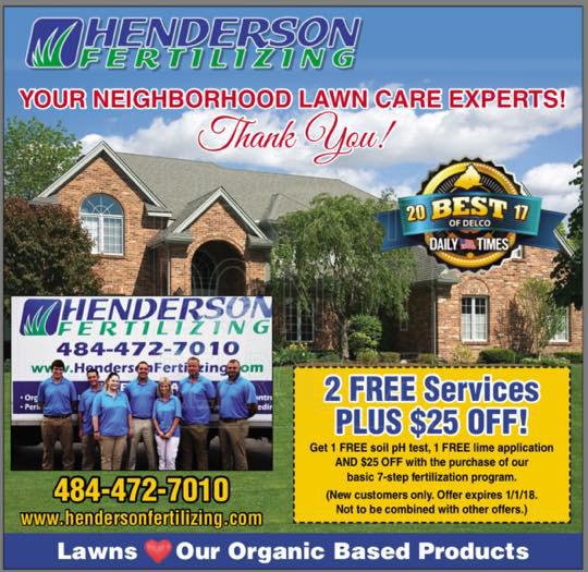 Henderson Fertilizing Ad
