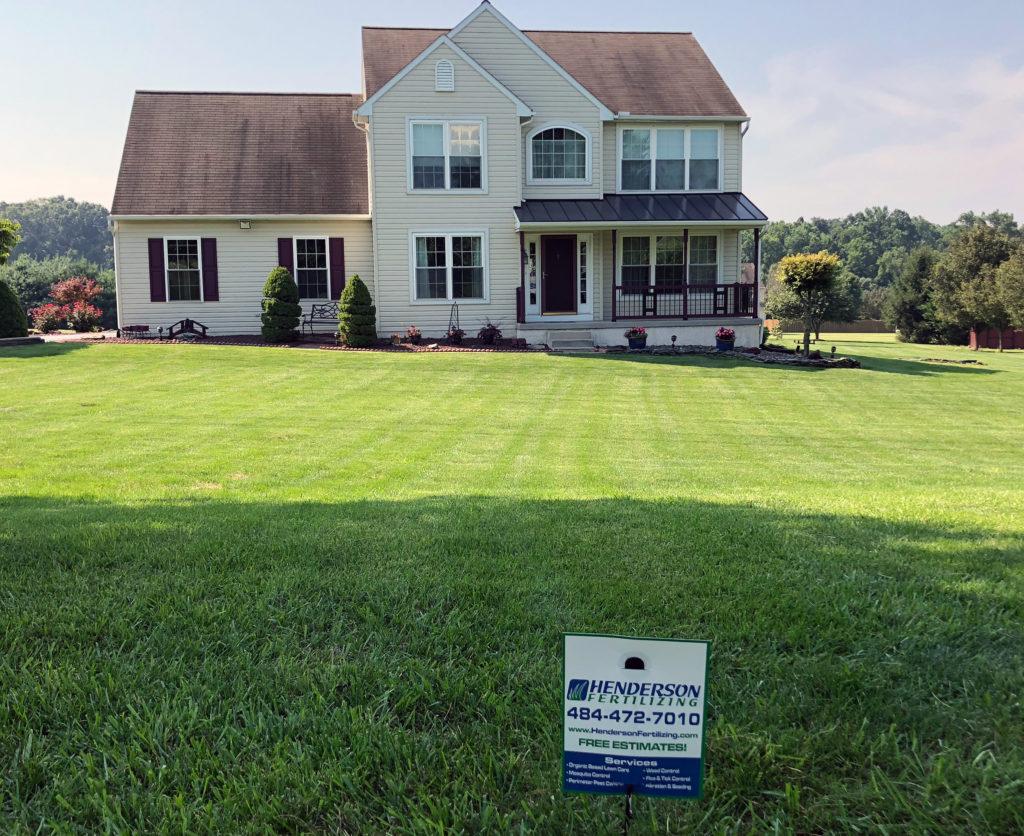 lawn in cochranville pa