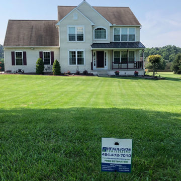 Lawn care treatment in Springfield